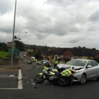 Two gardaí on motorcycles injured in Sligo crash