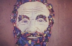 This wonderful Robin Williams graffiti in Dublin has been torn down