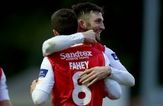 Bolger red can't stop Saints scoring three in win over UCD
