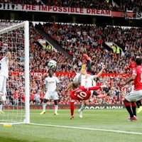 VIDEO: Swansea beat United at Old Trafford despite Rooney bicycle kick