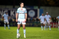 Sexton nails 45-metre penalty to fire Racing to victory over Montpellier