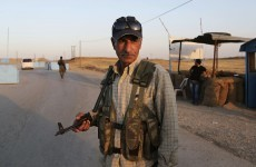 Kurdish troops take towns from Islamic State, advance on key dam