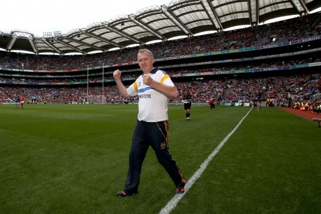 Eamon O'Shea's Tipperary booked a final date with Kilkenny