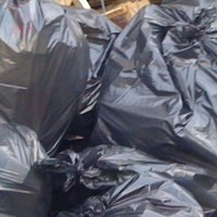 Bin bag full of 'cat heads' found on the street in Manchester
