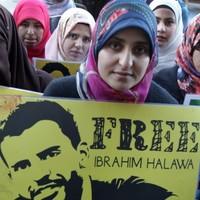 Ibrahim Halawa beaten with metal chain in Egyptian prison, says sister