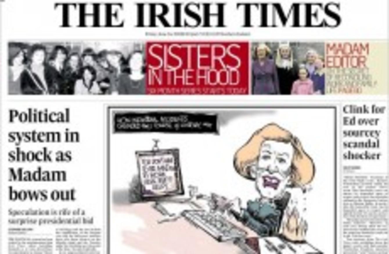 Irish times dating