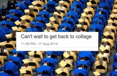 Some Irish teens going to college can't spell 'college'
