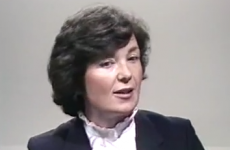 Check out this abortion debate between William Binchy and Mary Robinson in 1983