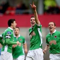 Cork City held by 10-man Bray