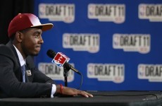 Meet the next big thing.. Cavs take Irving first in NBA draft