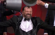 Daithi O'Se did the ice bucket challenge on the Rose of Tralee last night