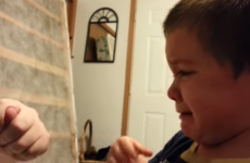 Kid is devastated after cruel dad steals his ear and nose