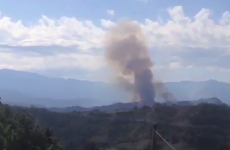 Italian Air Force jets collide and crash into forest below