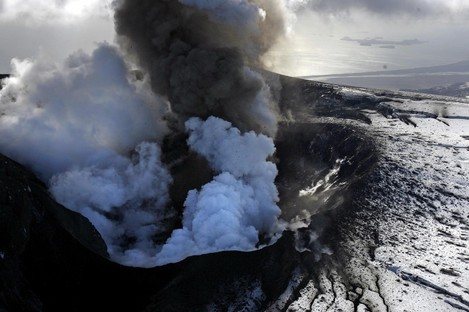 Remember this? The Eyjafjoell  volcano in Iceland's Eyjafjallajokull glacier erupted in April 2010, causing serious flight disruption across Europe.