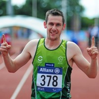 Michael McKillop burns off competition to take 800m gold at IPC European Champs