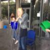 Sharon Ní Bheoláin films ice bucket challenge for Nine O'Clock News