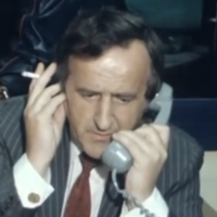 Check out this video of Albert Reynolds playing a small part in ending a hijacking crisis