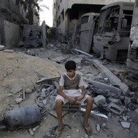 Three Hamas commanders and four children among at least 15 killed in Israeli strikes today