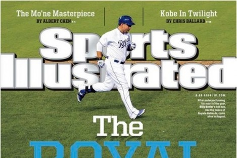 The Sports Illustrated cover this week is a beauty.