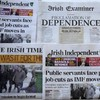 Bad news for Irish newspapers: every single one has dropped in circulation