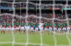 Same again for Mayo as they name unchanged team to face Kerry