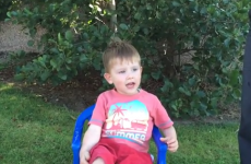 Adorable 3-year-old Irish boy nominates Spiderman and Bono