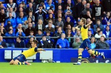 Coleman on target as Arsenal late show denies Everton