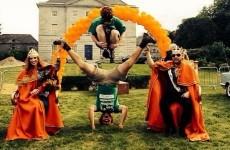 The Irish redhead convention looks like far too much craic