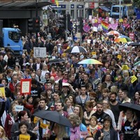 Thousands march to demand marriage equality
