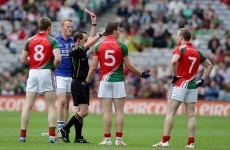 'If we're getting straight red cards for that, the game is going down' - James Horan