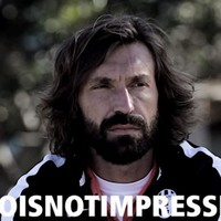 Andrea Pirlo is dangerously close to jumping the shark