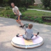 Coolest dad ever builds homemade hovercraft for his kids