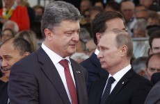 Putin V Poroshenko: Russia and Ukraine's presidents to meet today