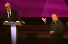 Scottish nationalists win big in feisty debate - weeks before independence vote