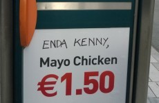Serious Enda Kenny burn spotted on the streets of Cork