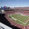 Shoddy workmanship Ted: New $1.3billion stadium has pitch relaid twice in a week