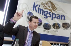 UK sales are saving Kingspan's profits with Irish revenues static