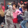 There was a rave on Princes Street in the middle of Cork this morning