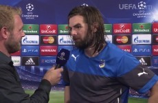 'It makes me lonely that I am the only Irishman in the Champions League' - Cillian Sheridan