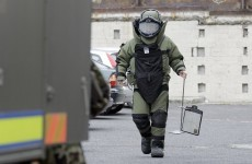 Two men still being questioned over large explosives find