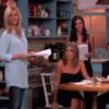 Jennifer Aniston, Courteney Cox and Lisa Kudrow re-enacted Friends on Jimmy Kimmel