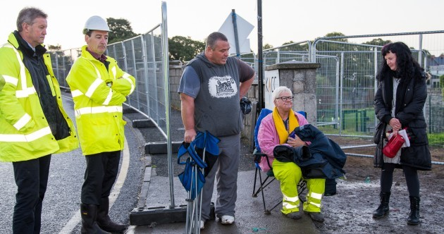 Kilkenny protesters vow to 'win the war' after being removed from bridge site