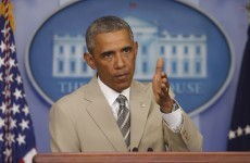 Obama: 'It's plain to see Russia is arming rebels in Ukraine'