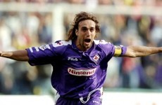 'The pain was so bad I wet the bed' – Batistuta reveals excruciating ankle issues in retirement