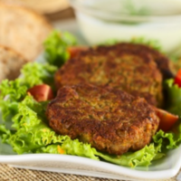 Kick-start your fitness plan this week with some spicy chickpea burgers