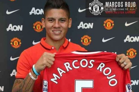 Marcos Rojo: brought in to bolster defence.
