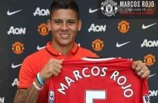 Van Gaal had not expected Rojo delay