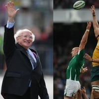 What do Paul O'Connell, JFK and President Higgins have in common?
