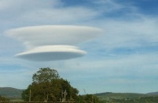 Is this a UFO in the skies over Wicklow?