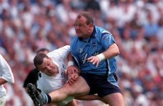 'Hunch down and drive up through your marker'- Vinny Murphy on the art of the perfect shoulder